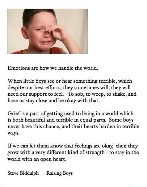 huilend jongetje
